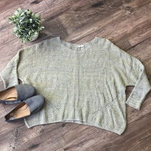 Anthropologie Moth Dolman Sleeve Sweater